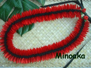 Red Maunaloa sea bean